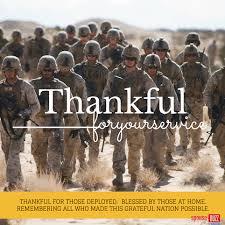 military thanks