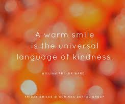 kind smile