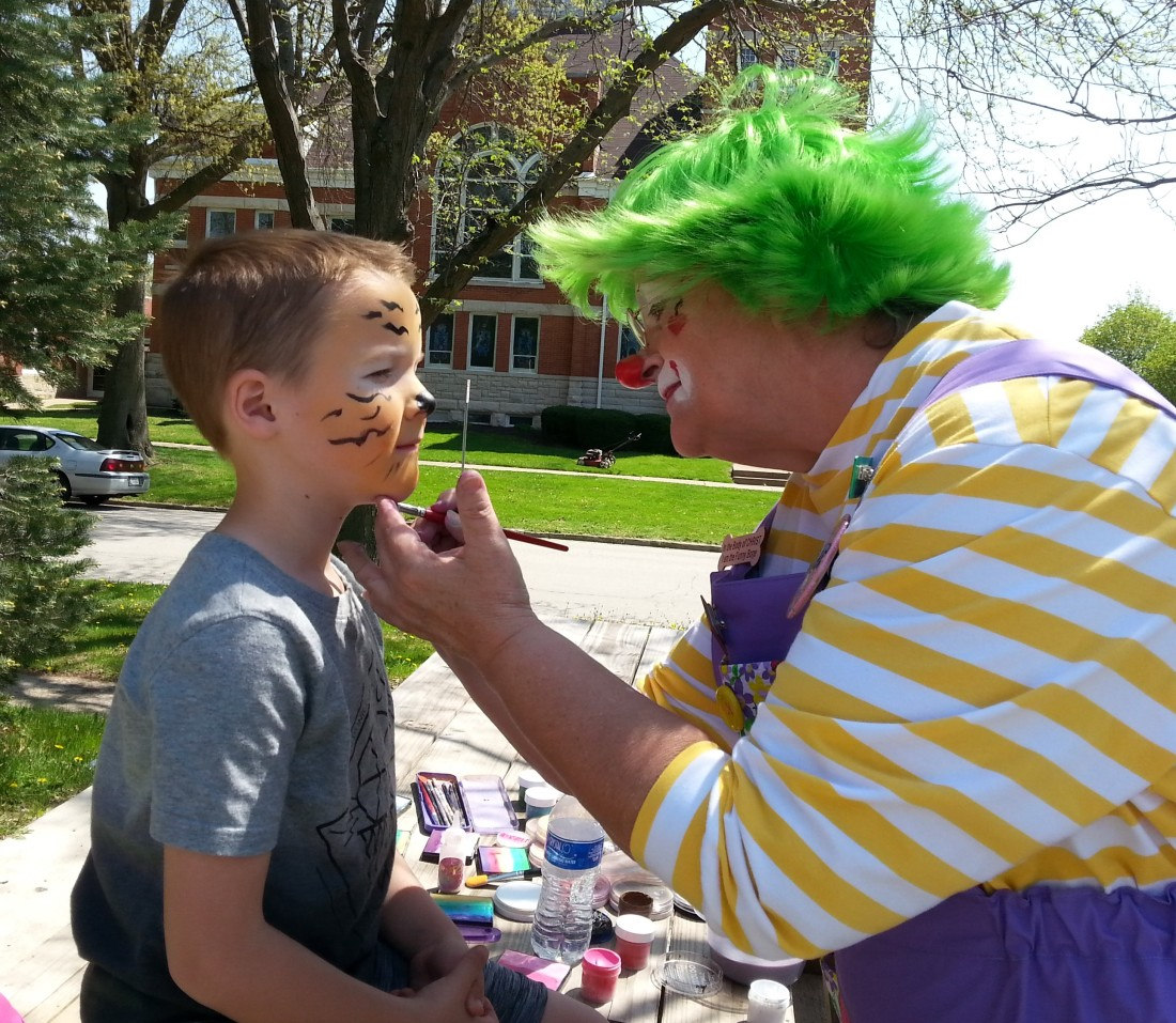PUNCH Skeeter Face Painting May 5 2018