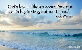 God love ocean