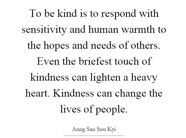 kindness warmth