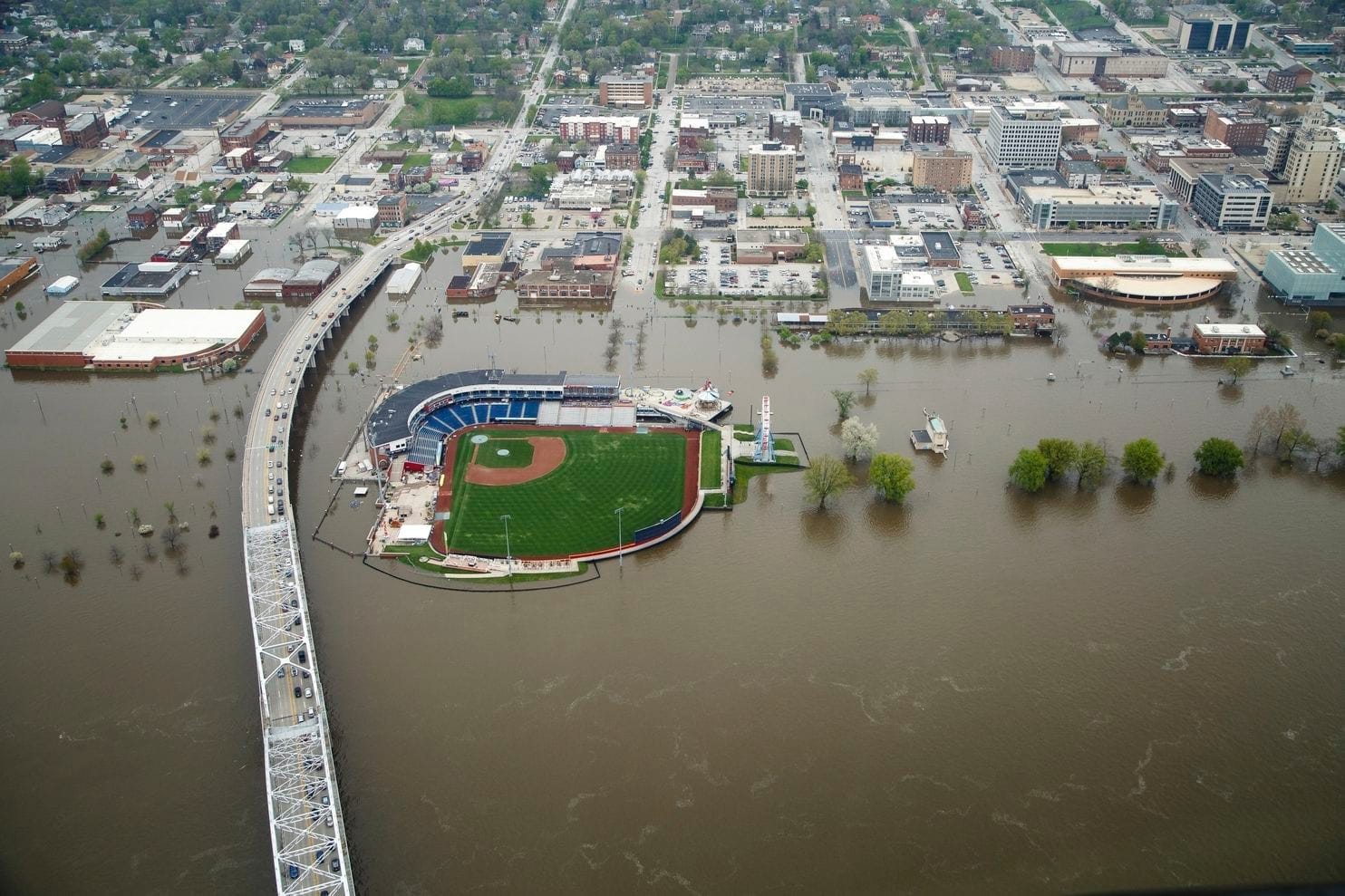 ballpark flood