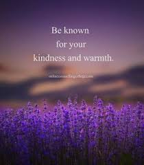 kindness warm