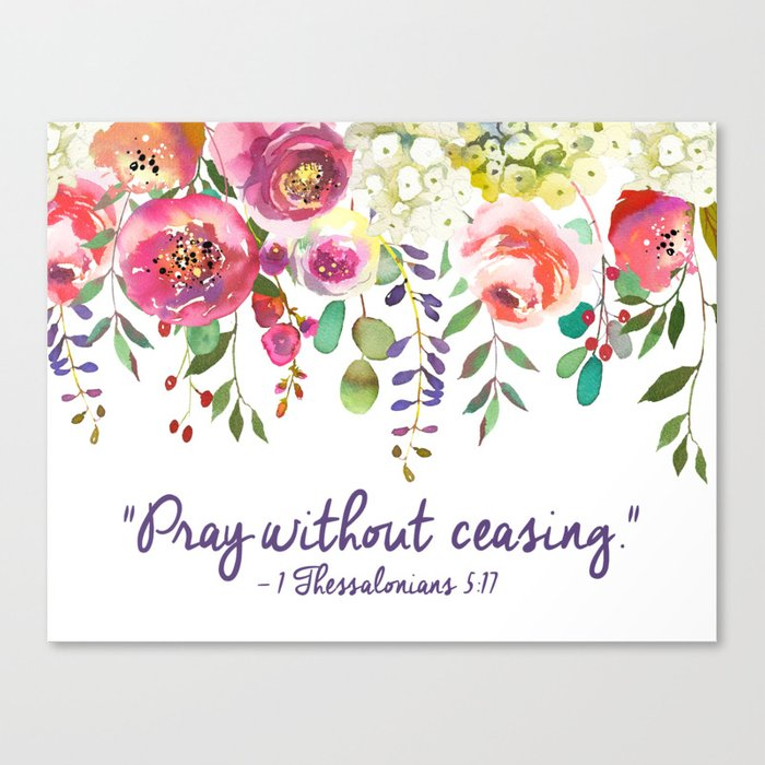 pray without ceasing 1 thessalonians 5 17