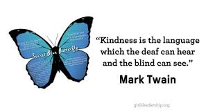 kindness for deaf blind