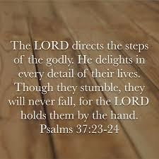 Psalm 37 23-24