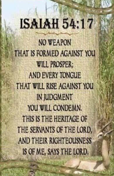 Isaiah 54 17