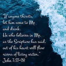 John 7 37 38