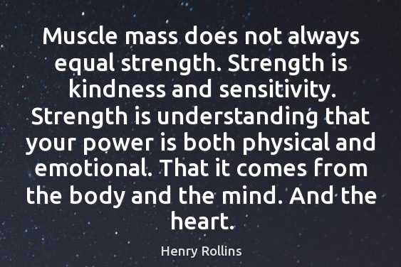 kind strength